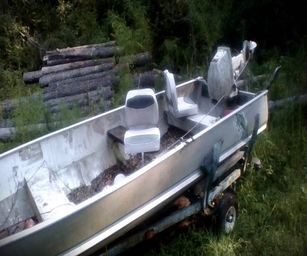 Used Evinrude Boats For Sale by owner   1986 14 foot Evinrude V-Hull